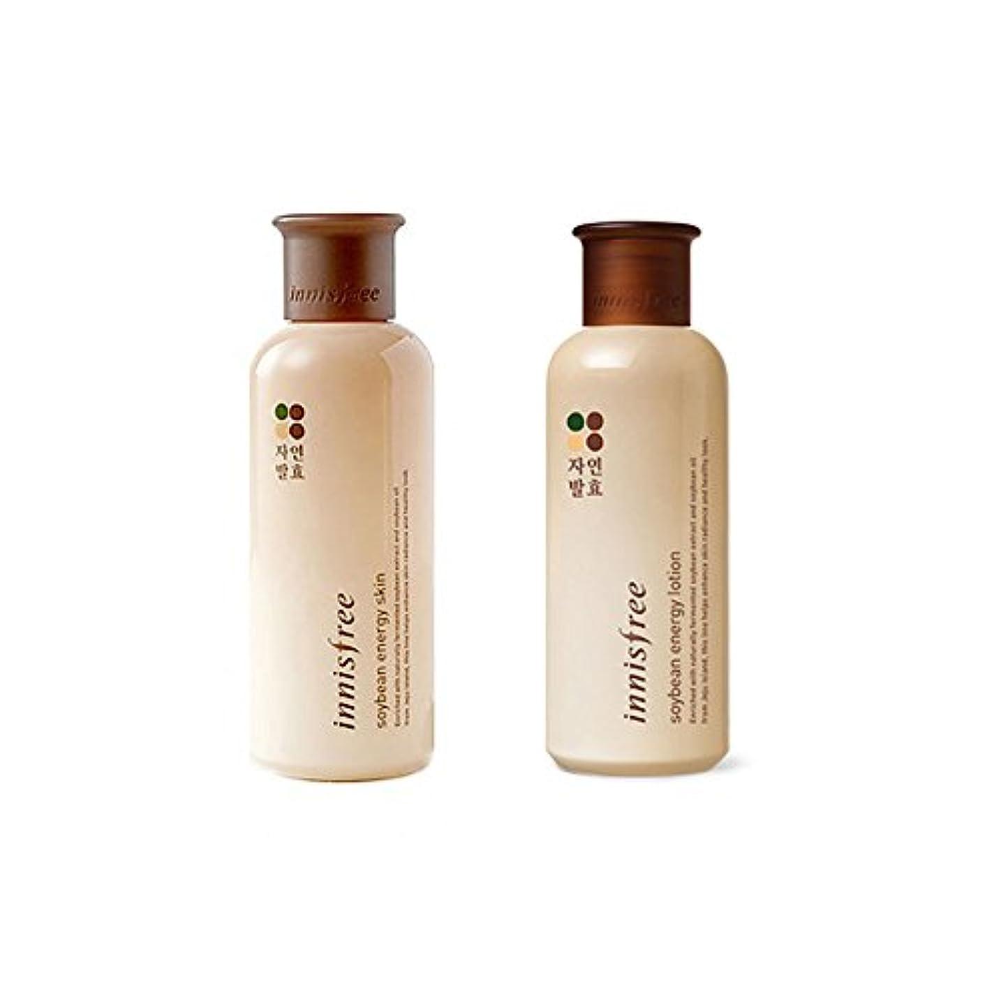 コンテンポラリー熱望する控えめな[イニスフリー] Innisfree 発酵大豆エネジスキン (200ml)+ ローション(160ml)セット Innisfree Soy Bean Energy Skin(200ml)+Lotion(160ml)Set...
