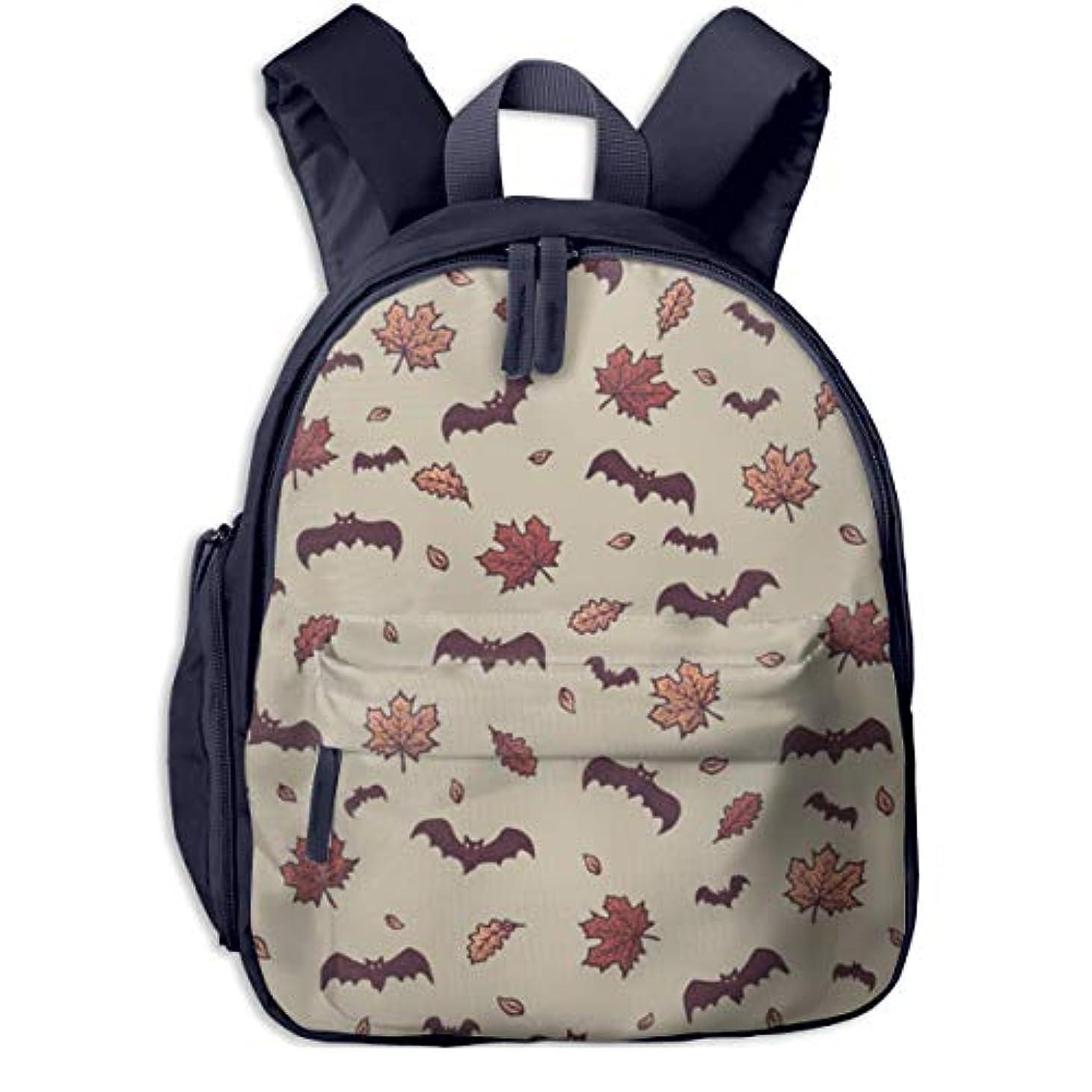 うっかり進む継承ハロウィンバット 迷子防止リュック バックパック 子供用 子ども用バッグ ランドセル 高品質 レッスンバッグ 旅行 おでかけ 学用品 子供の贈り物