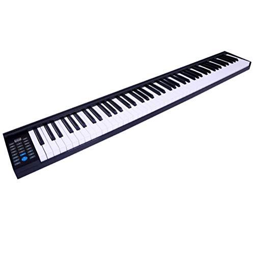 ニコマク(NikoMaku) 電子ピアノ SWAN 88鍵盤 スリムボディ ワイヤレス長時間利用可能 本物ピアノと同じストローク MIDI対応 奥行きわずか18.5cm 練習にピッタリ B07QHTGNQ2 1枚目