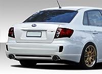 2008–2014スバルインプレッサ2008–2010スバルインプレッサWRX 4dr Duraflex STI Lookリアバンパーカバー–1ピース