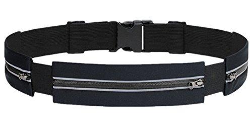 [해외]F-TUBAME 달리기 파우치 & 런닝 벨트 3 포켓 스마트 폰 대응 반사가 야간 워킹 & 러닝 중에 휴대 가능 방수 경량 iphone 6splus 수납 가능 조절 가능 신축 벨트 파우치 달리기 성기 3 색 선택 가능/F-TUBAME Running Pouch & Running Belt 3 Pocket ...