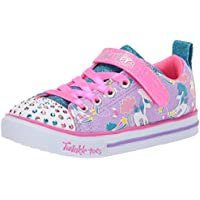 Skechers Sparkle Lite - Sparkle Friends Girls Sneakers, Lavender/Multi