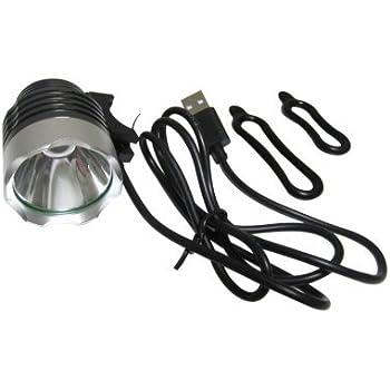 CREE XML-T6 高輝度 サイクルヘッドライト USB接続タイプ