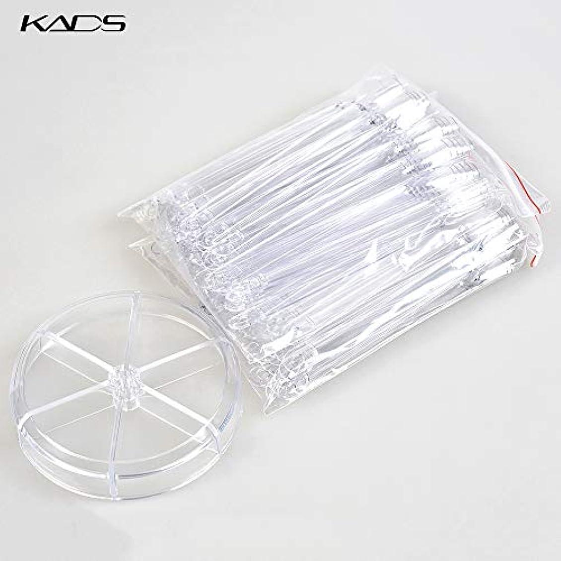効率親愛な同一のKADS ネイルカラーチャート スティックチップ ディスプレー用 練習 120枚 (クリア)