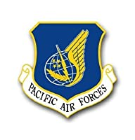 """US Air Force Pacific Air Forcesデカールステッカー3.8"""""""