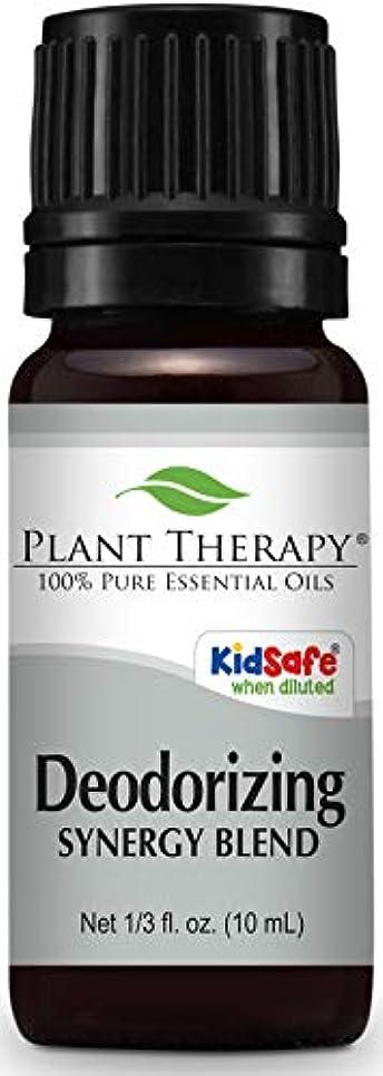 不振競争力のある唯物論Deodorizing Synergy Essential Oil 10 ml (1/3 oz). 100% Pure, Undiluted, Therapeutic Grade (Blend of: Palmarosa...