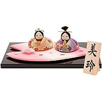 Triads Original 雛人形 花びら雛 間口54cm x 奥行41.9cm x 高さ34cm【約 】 1-260