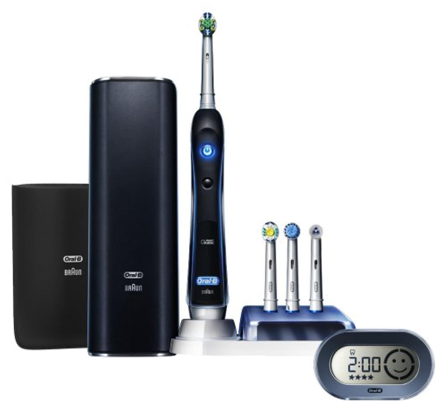 スライム要求文化ブラウン オーラルB プラチナブラック 電動歯ブラシ D345456X