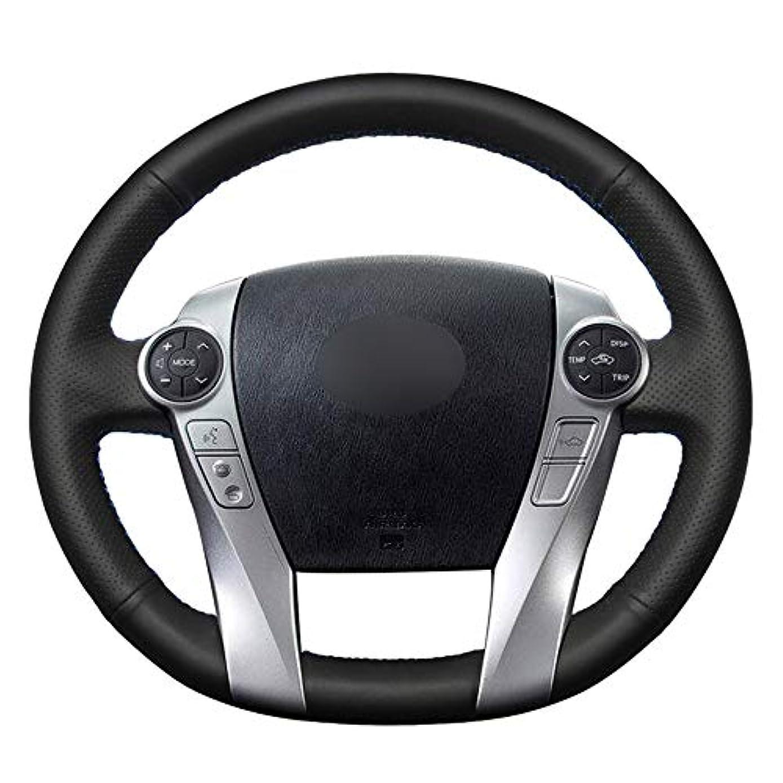戸惑う持つ鼓舞するJIERS 車のステアリングカバー、ヒュンダイベラクルス2007-2012 IX55 2007-2012、車用ハンドルカバー