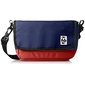 [チャムス]ショルダーバッグ Small Camera Shoulder H・Navy/Tomato