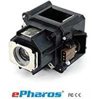 ePharos ELPLP46/V13H010L46 replacement projector lamp compatible bulb with generic housing for EPSON EB-500KG/G5000/G5200/G5200W/G5200WNL/G5300/G5350NL/G5350 [並行輸入品]