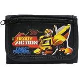 Transformers Black Tri-Fold Wallet [並行輸入品]