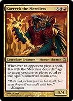 英語版 時のらせん Time Spiral TSP 無慈悲なる者ケアヴェク Kaervek the Merciless マジック・ザ・ギャザリング mtg