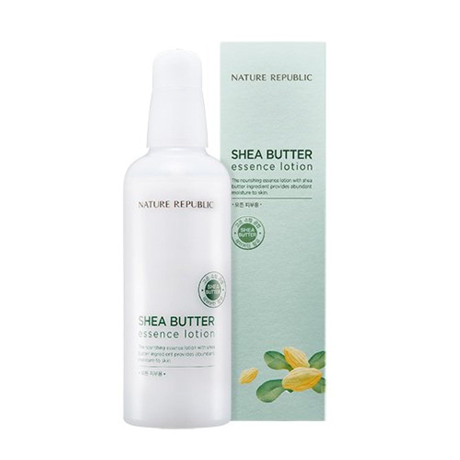 雪電卓小川NATURE REPUBLIC Shea Butter Essence Lotion ネイチャーリパブリック シェアバターエッセンスローション [2017 NEW] [並行輸入品]