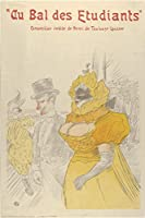 Henri De Toulouse Lautrec ジクレープリント キャンバス 印刷 複製画 絵画 ポスター(学生ボールで) #XFB