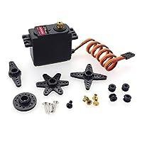 GOSIUP ZdレーシングDM0900 9キログラム標準スチールギアフルcncアルミシェルコアレスサーボ防水サーボ用ヘリコプター1ピース