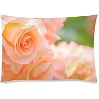 可愛い 子供 薔薇の花 座布団 50cm×72cm