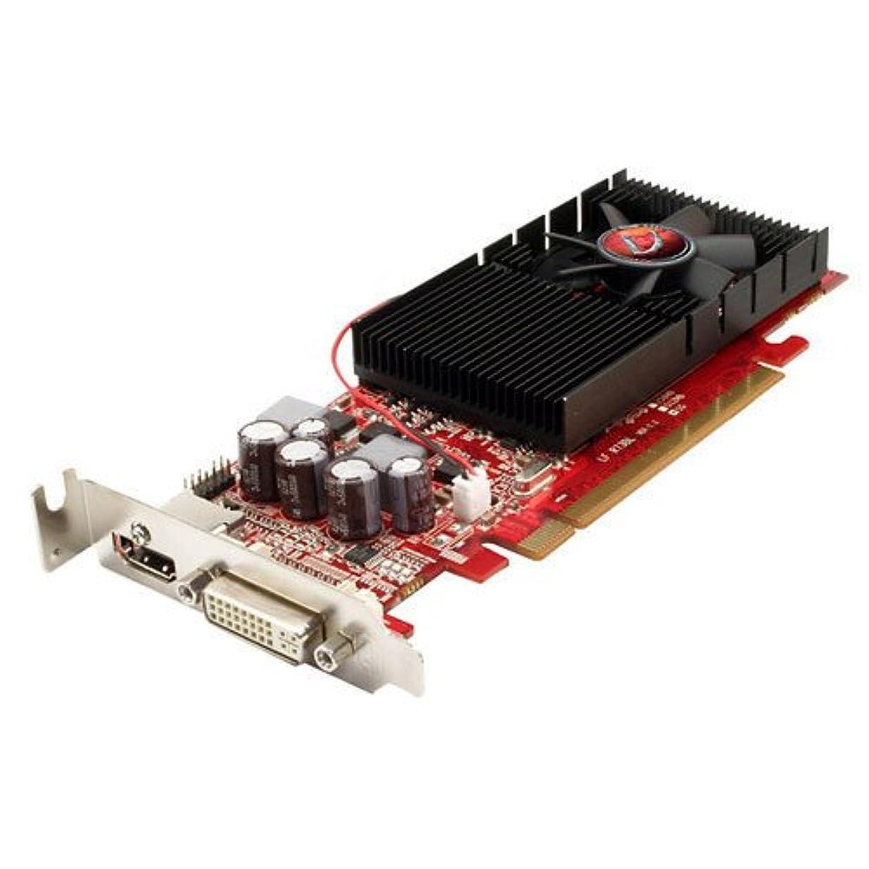 現金トリクルコンプライアンスVisionTek Radeon 4650 SFF 1GB DDR3 (DVI-I、HDMI、VGAグラフィックスカード - 900276