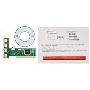 Microsoft WindowsPro8.1 x32bit 日本語 DSP版| DVD LCP (紙パッケージ版)+USB増設PCIカードUSB2.0