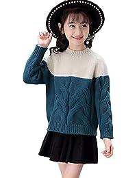 87ef5d8f82074 Lisa Pulster 秋 冬 キッズ 女の子 ニット セーター スリム 子供服 ...