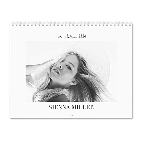 Sienna Miller - An Audience With 2019 Wall Calendar/壁掛けカレンダー