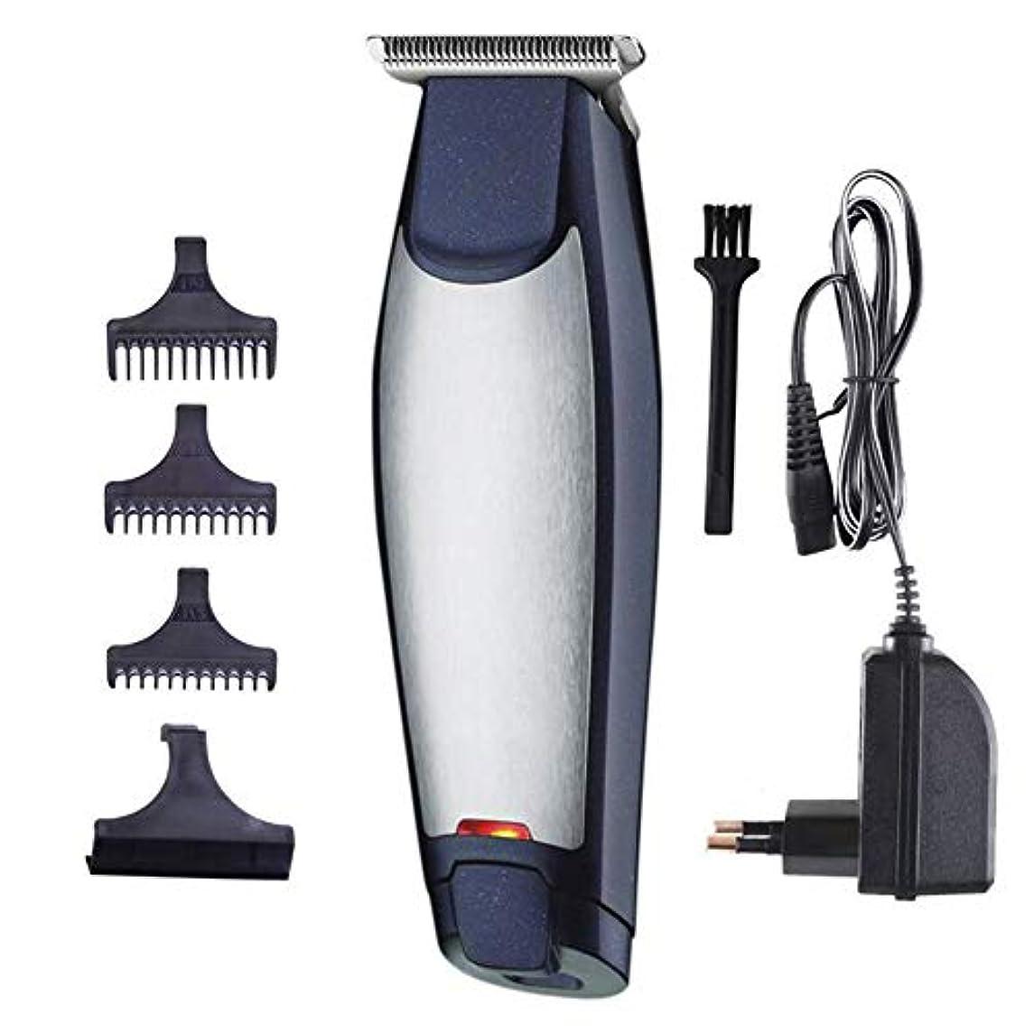 丘太鼓腹フェードバリカンヘアひげトリマー充電式電気かみそり男性コードレスヘアカッティングマシン付き櫛理髪師マシン散髪キット