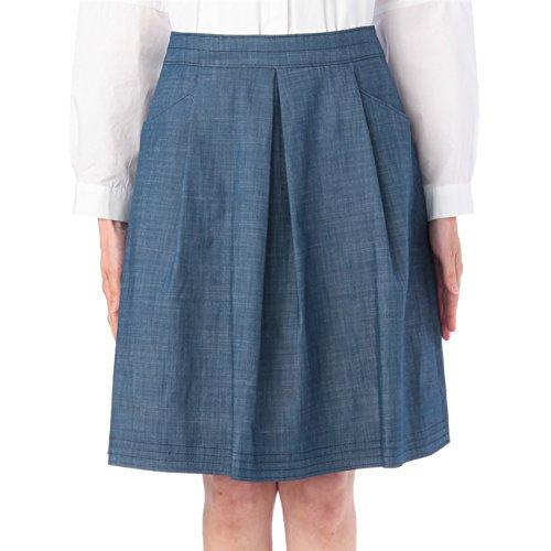 (リフレクト)Reflect タック入りスカート ブルー(092) 07(S)