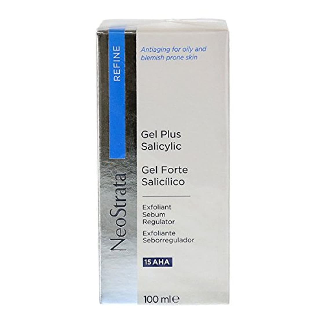 帽子勤勉な脅かすNeostrata Gel Plus Salicylic Exfoliant Sebum Regulator 100ml [並行輸入品]