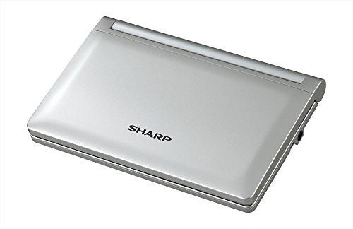 シャープ音声コンテンツ搭載・タイプライターキー配列電子辞書ライトシルバーPW-AM700-S