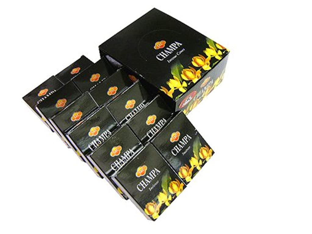 ルーキー支援ラジウムSANDESH SAC (サンデッシュ) チャンパ香コーンタイプ CHAMPA CORN 12箱セット