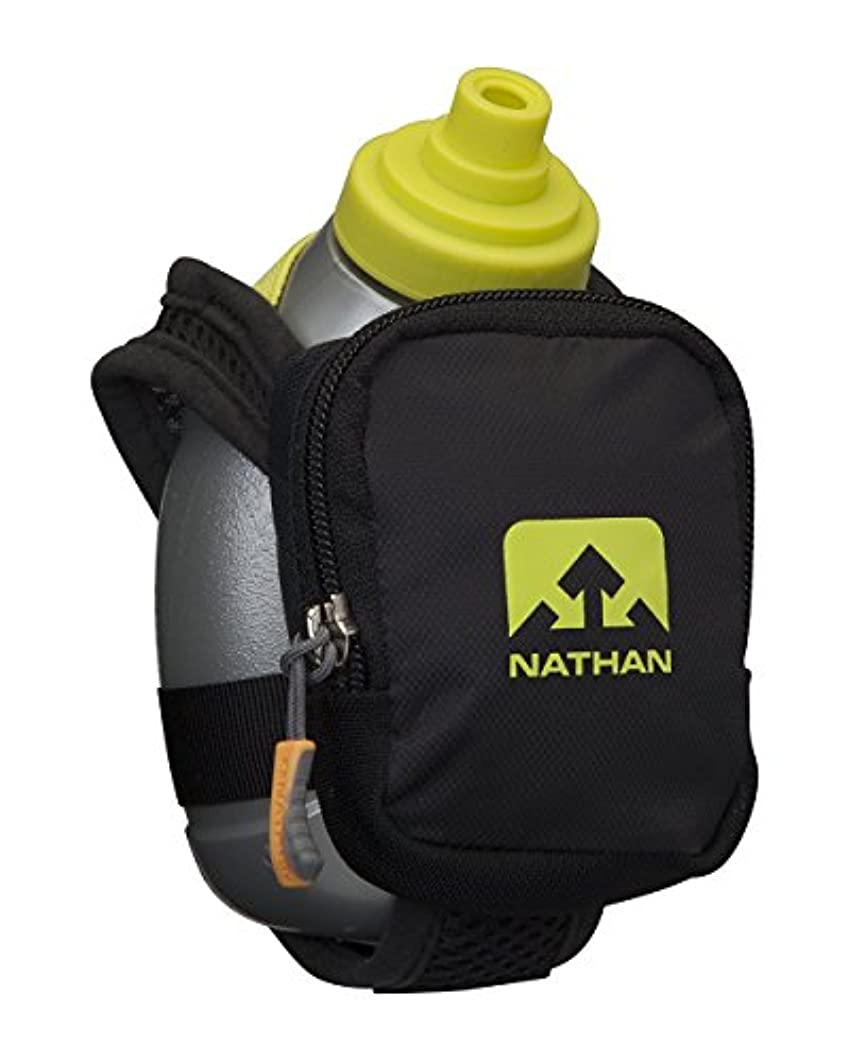 苦味赤外線印象的な[ネイサン] NATHAN ハイドレーションハンドボトル クイックショットプラス ブラックライト