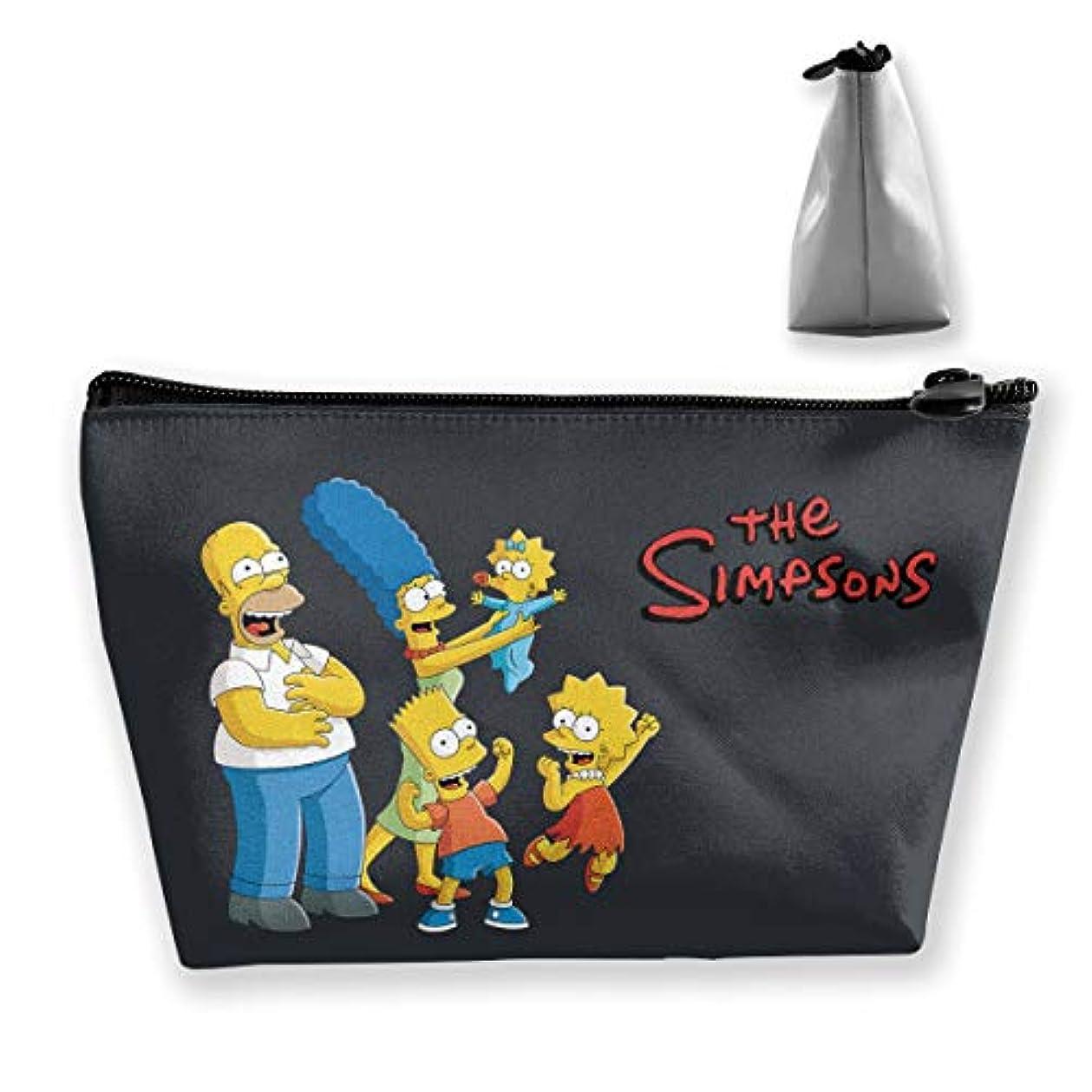 争うフィット百年DSM_TXSND ザ シンプソンズ Simpsons 化粧ポーチ ポーチ 小物入れ 多機能コスメポーチ メイクポーチ 化粧バッグ 化粧品 コスメ収納 便利 収納ポーチ 旅行用 収納ケース 化粧ポーチ