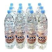 evian エビアン 1.5L ペットボトル 12本2セット(24本) 【ミネラルウォーター】