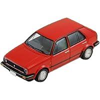 トミカリミテッドヴィンテージ TLV-N71a VW ゴルフII4ドア CLI (赤) 完成品
