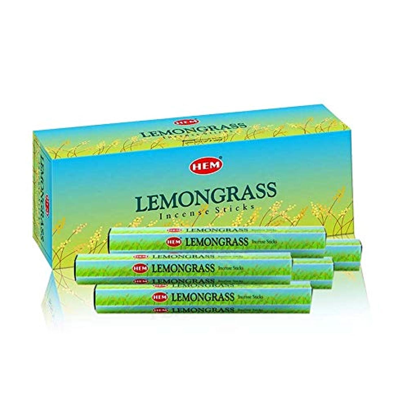 体細胞桁正確なHEM Lemongrass 100 Incense Sticks (5 x 20 stick packs)