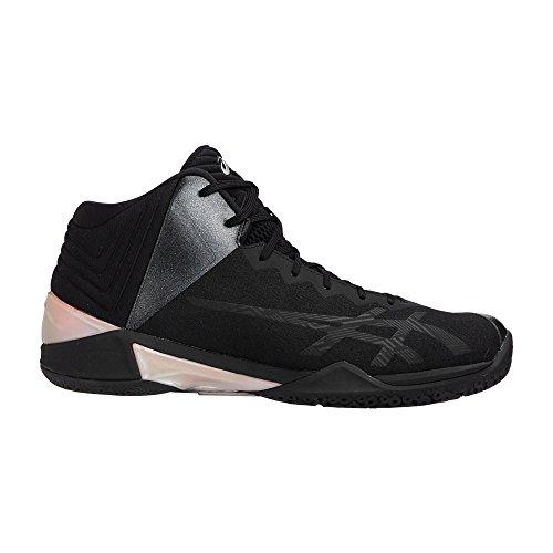 ASICS(アシックス) バスケットボールシューズ ゲルバースト22 GELBURAST TBF342 9090ブラック×ブラック 25.5