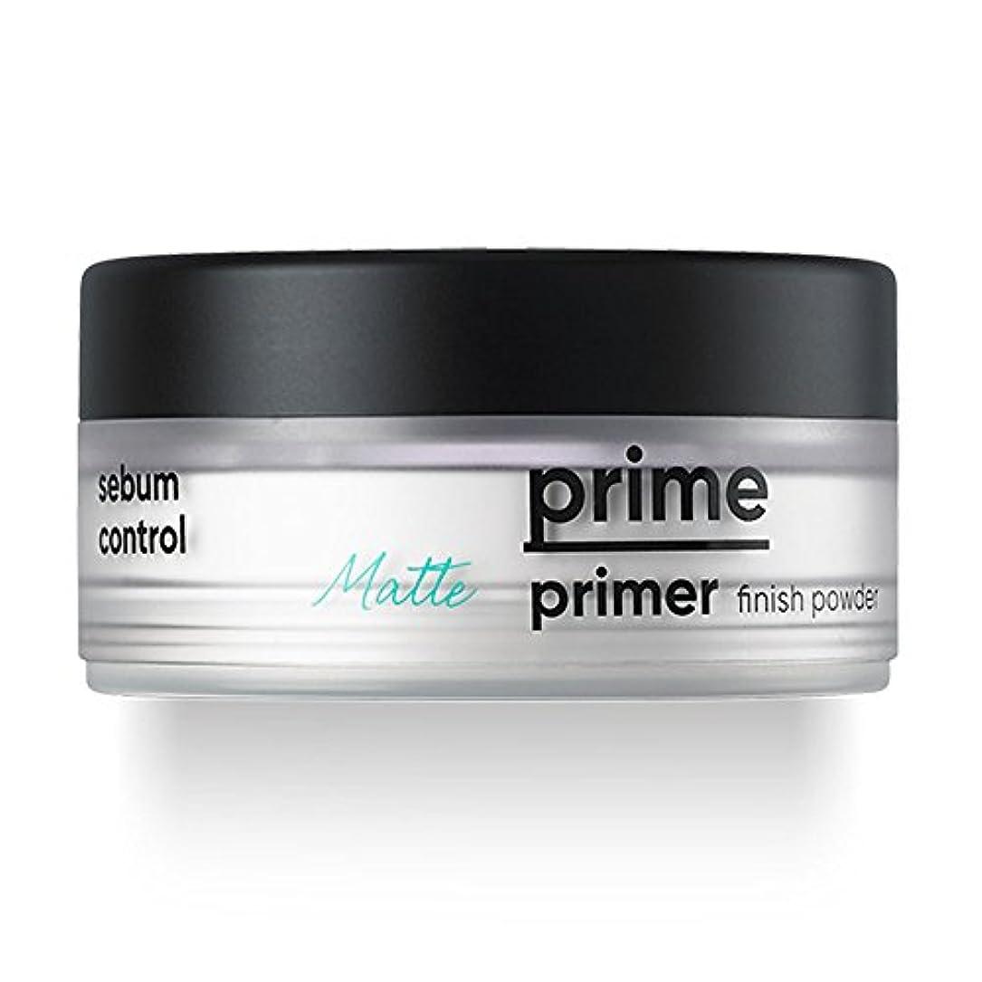 空気従う贅沢BANILA CO(バニラコ) プライム プライマー フィニッシュ パウダー Prime Primer Matte Finish Powder 12g
