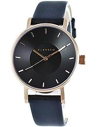 [クラス14]KLASSE14 メンズ レディース VOLARE ローズゴールド ブラック文字盤 最高級レザー 36mm VO16RG005W 腕時計 [並行輸入品]