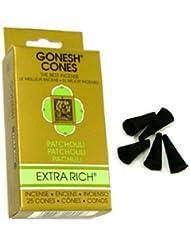 ガーネッシュ(GONESH) エクストラリッチ インセンス コーン パチュリ 25個入(お香)