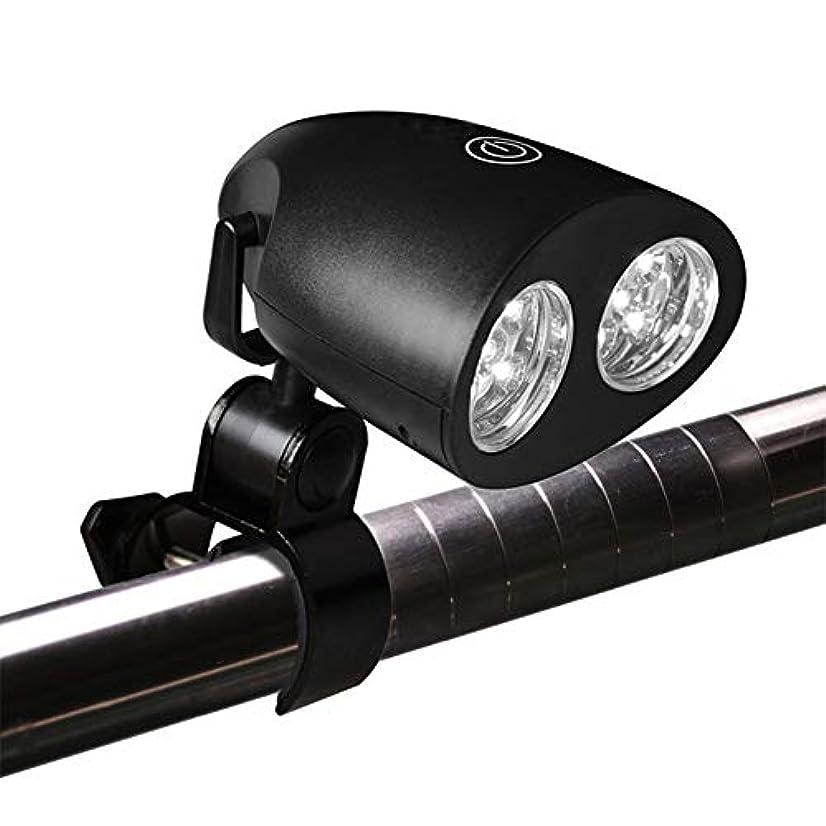 夕食を食べるポルティコくびれたVICOODA LED自転車ライト 10PCSライト アウトドア 3pcs AA電池(電池なし) 360度回転 高輝度