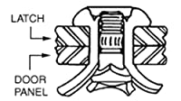 C.R. LAURENCE 42372 CRL Ford Door Handle Rivets C.R. Laurence [並行輸入品]