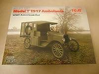 1/35 ICM T型フォード 救急車両 mod.1917