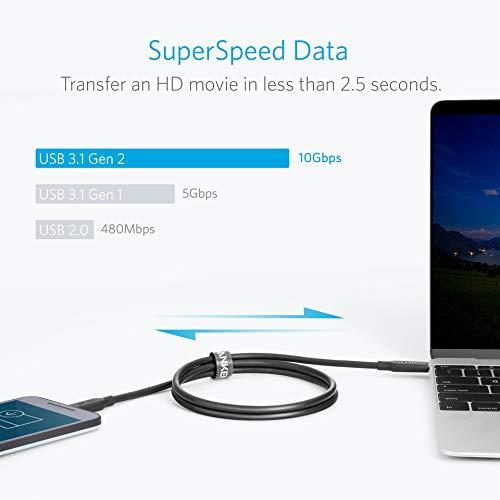 Anker PowerLine II 3-in-1 ケーブル(ライトニングUSB/USB-C/Micro USB端子対応ケーブル)【Apple MFi認証取得】iPhone XS/XS Max/XR 対応 (0.9m ブラック)