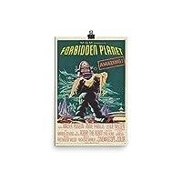 ヴィンテージポスター–Forbidden Planet–プレミアム光沢フォト用紙ポスター 12x18