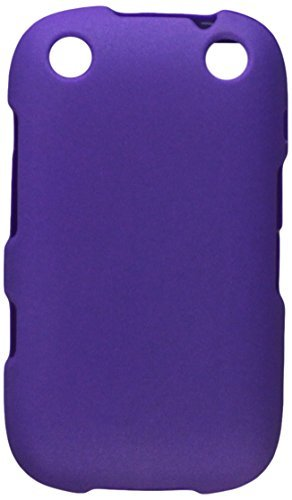 Reiko RPC10-BB9310PP Premium Rubberized Protective Cover for Blackberry Curve 9310 - Research In Motion - 1 Pack - Retail Packaging - Purple [並行輸入品]