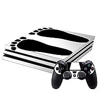 新型PS4 専用スキンシール PRO プロ プレイステーション専用 スキンシール 裏表 全面セット カバー ケース 保護 フィルム ステッカー デコ アクセサリー 005954