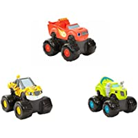 Blaze and the Monster Machines Bath Squirters Bundle includes 3 Items: Blaze, Stripes and Zeg by Blaze and the Monster Machines