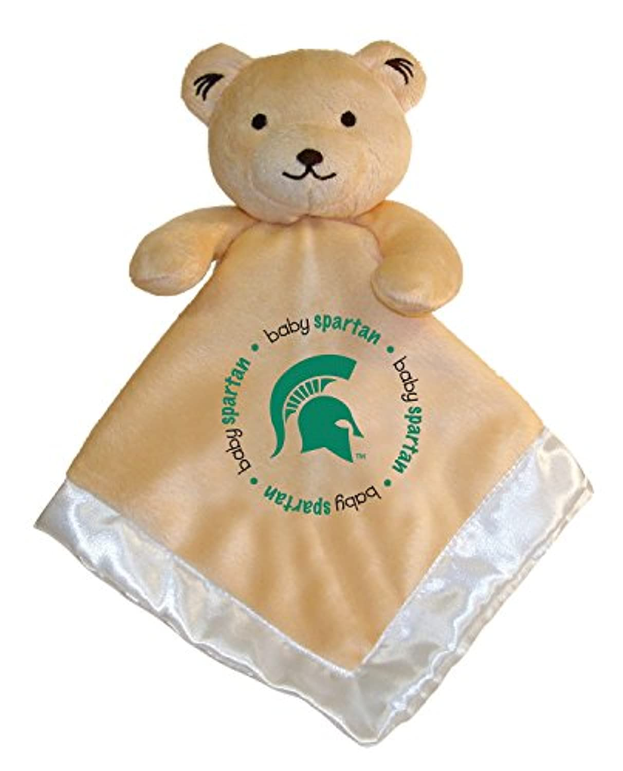 Baby Fanatic Security Bear Blanket, Michigan State University by Baby Fanatic