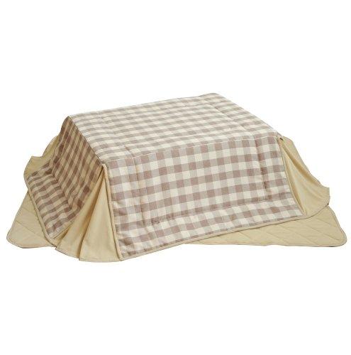 RoomClip商品情報 - アビライト 長方形105x75サイズ用 コタツ布団掛敷2点セット UB-75105
