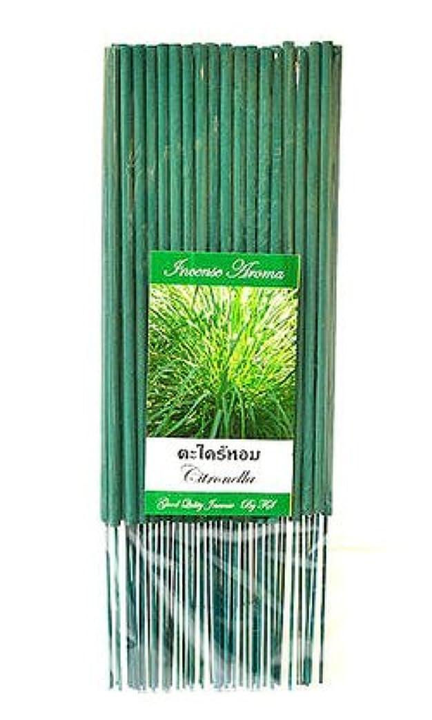 植物学召喚するオーナータイのお香 スティックタイプ [シトロネラ] インセンスアロマ 約50本入り アジアン雑貨